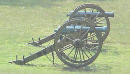Civil War Cannon - Artillery (photo circa 2000) by Carrie Cook