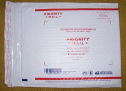 Prioroty Flat Rate Bubble Mailer