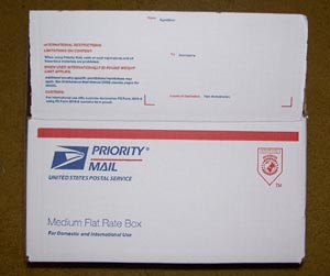 USPS Flat Rate Priority Box