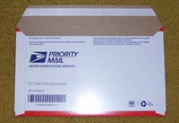 USPS Small Flat Rate Priority Envelope