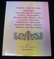 Dusky and Allied Families Color Front Cover