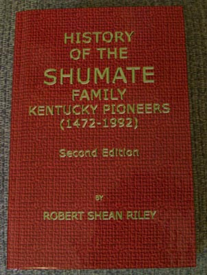Shumate book, 2013 Reprint by Riley