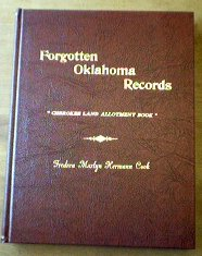Deluxe hardbound book - Forgotten Oklahoma Records by Cook