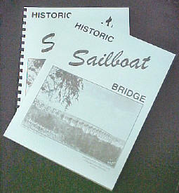 Softbound books: Sailboat history title in perfect binding and comb binding