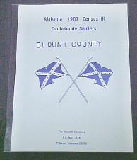 1907 Alabama Census Blount County - tape and staple binding